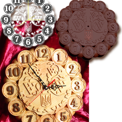 Годинник з символікою України