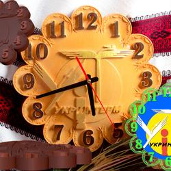 Годинник з символікою організації